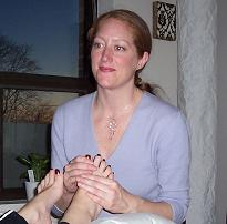 Holistic Foot Reflexology Ottawa Examiner Robyn Griffiths