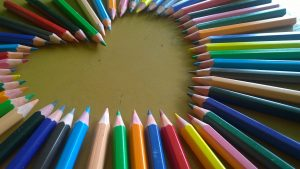 color therapy pencils