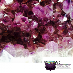 SchoolofCT | Amethyst | Crystal Reflexology | AbFab | Feeling Absolutely Fabulous | JFairbrass