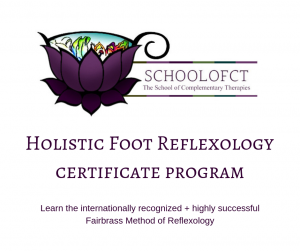 More information about Holistic Foot Reflexology training in the comfort of your own home